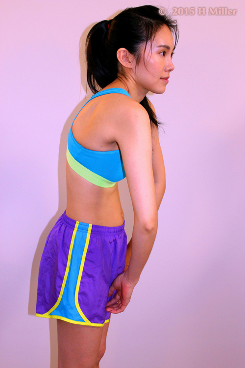 Abduction (protraction) of the Scapula  Final Pose