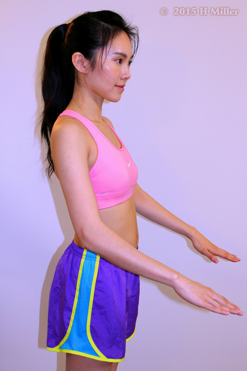 Extension of the Elbow Middle Pose