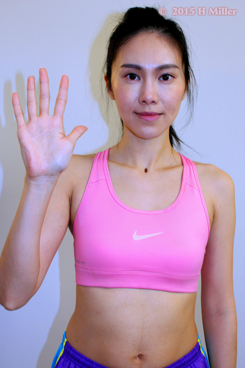 Extension of the Thumb Starting Pose