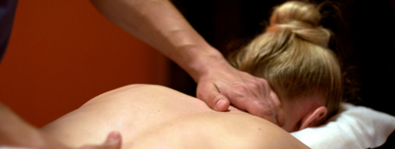 Massage Therapy Session At Massage School