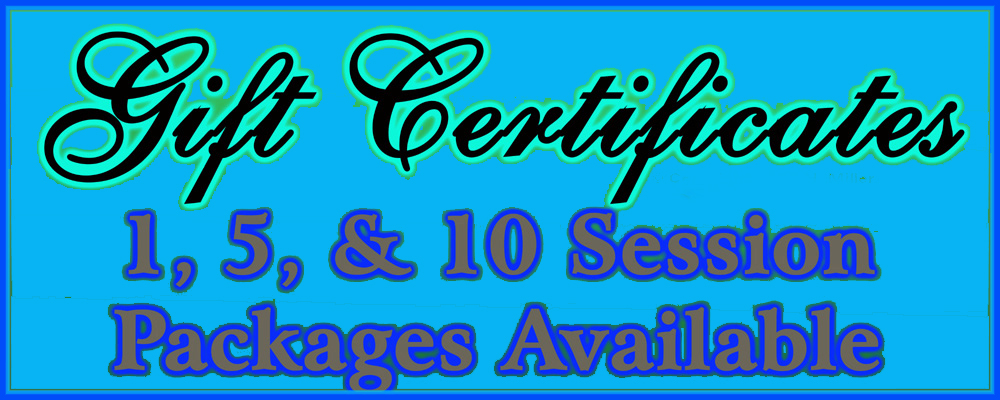 On Site Massage Gift Certificates