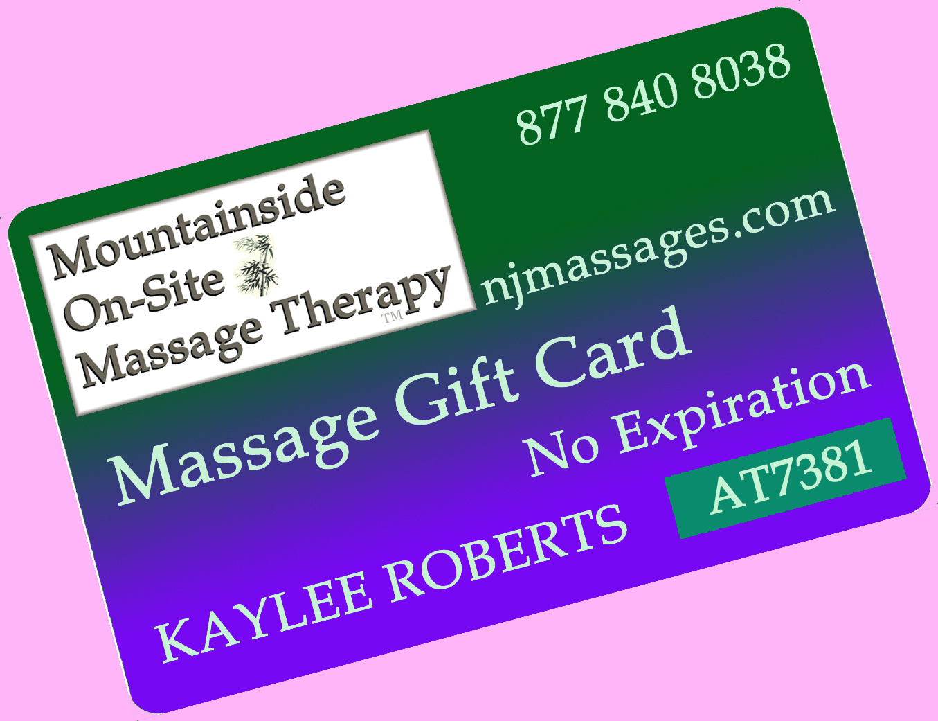 Mobile Gift Modalities Available