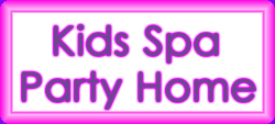 Kids Spa Party NJ Home Page