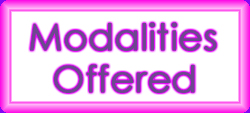 Massage Modalities Offered