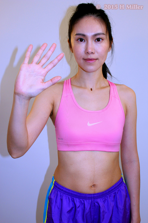 Abduction of the Wrist(radial deviation) Middle Pose