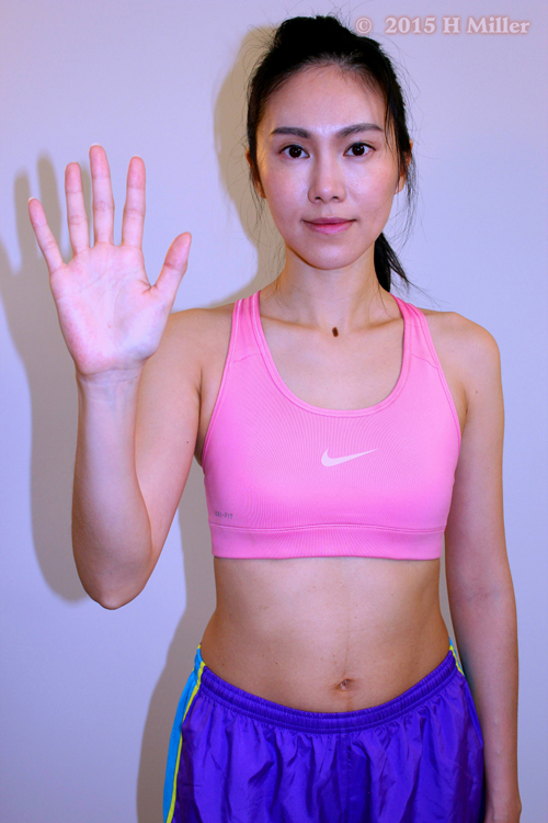 Abduction of the Wrist(radial deviation) Starting Pose