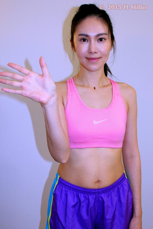 Adduction of the Wrist(ulnar deviation) Final Pose