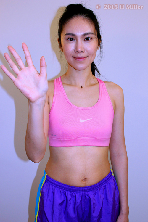 Adduction of the Wrist(ulnar deviation) Middle Pose