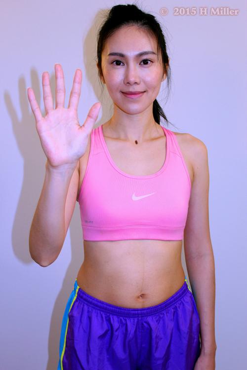 Adduction of the Wrist(ulnar deviation) Starting Pose
