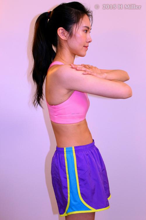 Anterior Tilt (downward rotation) of the Pelvis Middle Pose