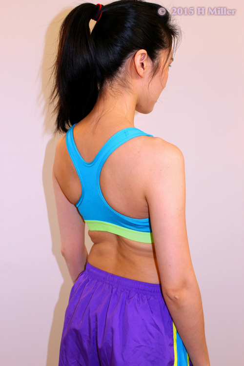 Depression of The Scapula Middle Pose