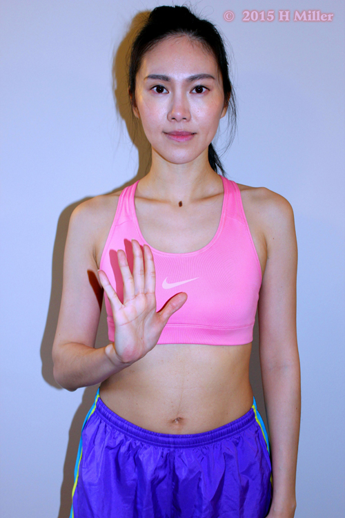 Extension of the Fingers Final Pose