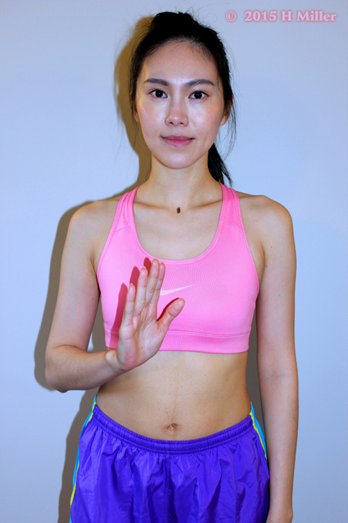 Extension of the Fingers Starting Pose