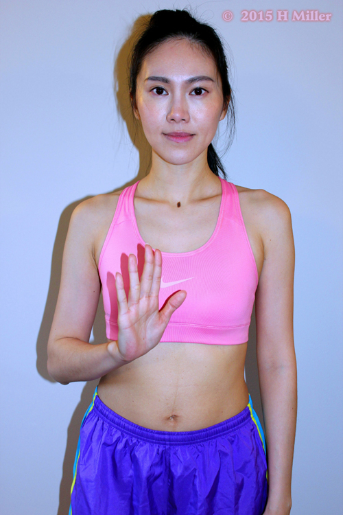Extension of the Fingers Middle Pose