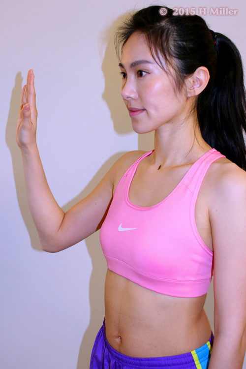 Extension of the Thumb Middle Pose