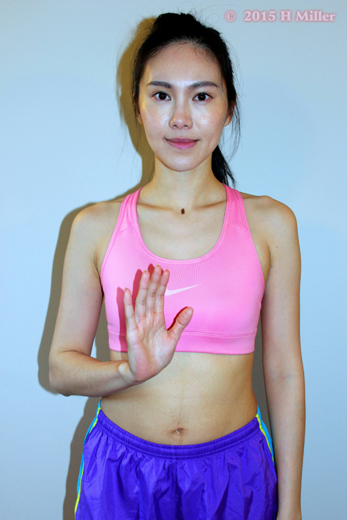 Flexion of the Fingers Starting Pose