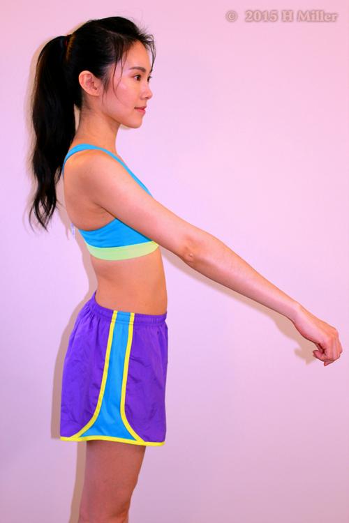 Flexion Of The Shoulder Final Pose
