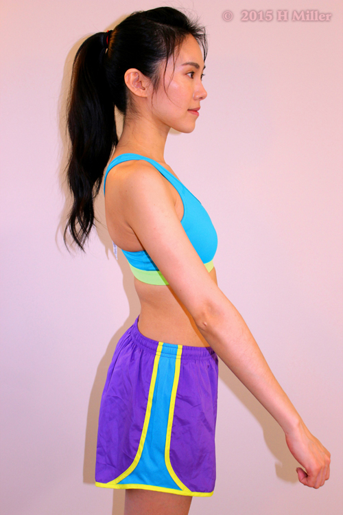 Flexion Of The Shoulder Middle Pose