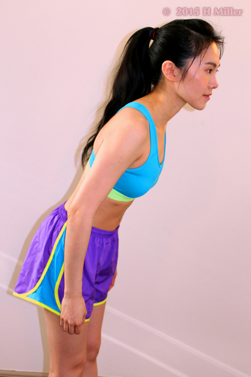 Flexion Of The Spine Middle Pose