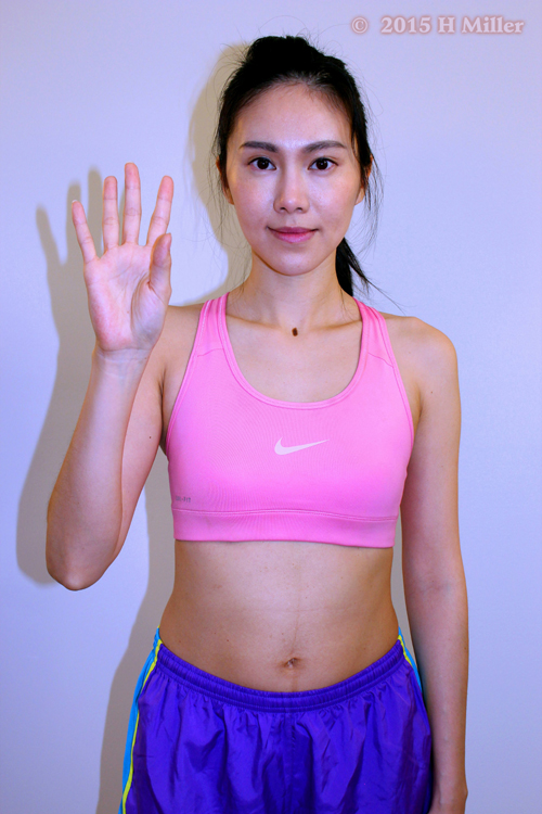 Flexion of the Thumb Middle Pose