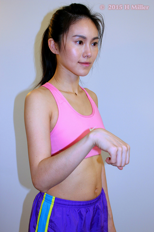 Flexion of the Wrist Middle Pose