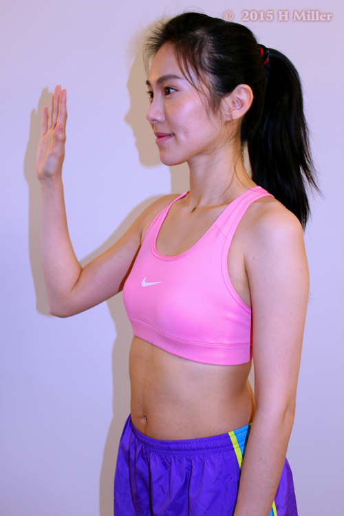 Opposition of the Thumb Middle Pose
