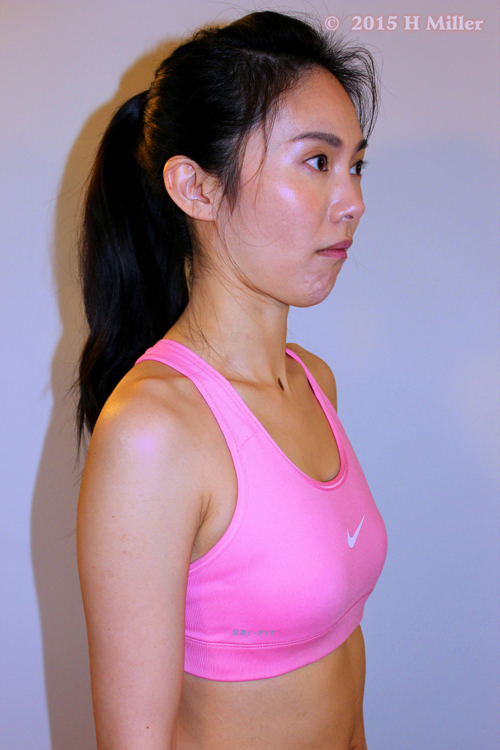 Retraction of the Mandible Middle Pose