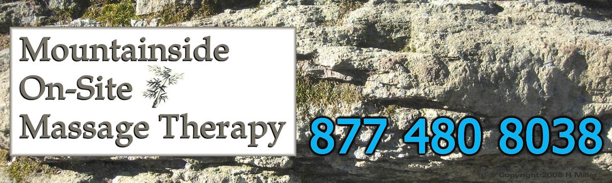 Mountainside Massage Therapy Mobile Massage Service